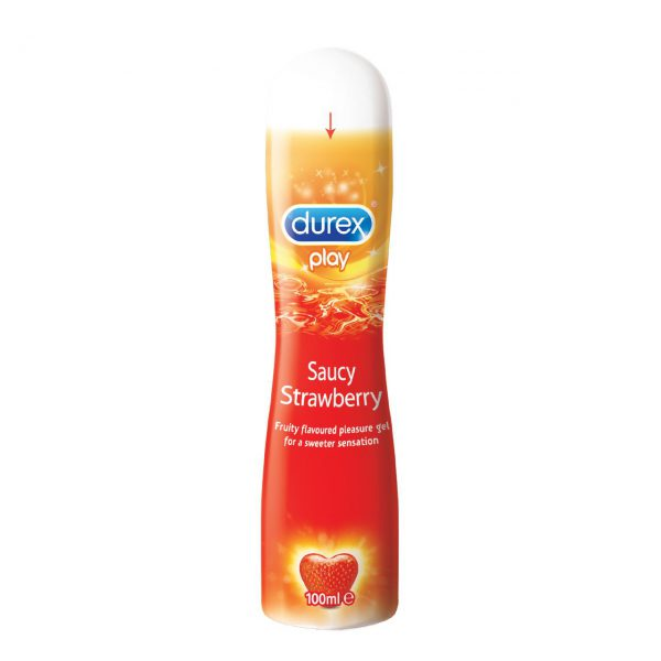Durex Play Saucy Strawberry Gel online lubricant shopping bd from goponjinish