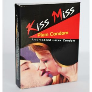 Kiss Miss Plain online condom shopping bd from goponjinish