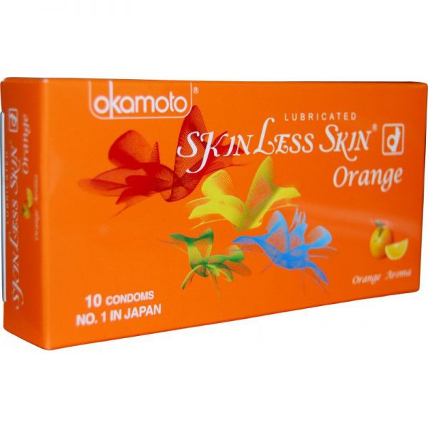 Skinless Skin Orang online condom shopping bd from goponjinish
